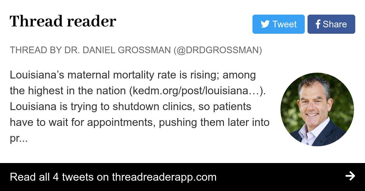 Thread by @DrDGrossman: