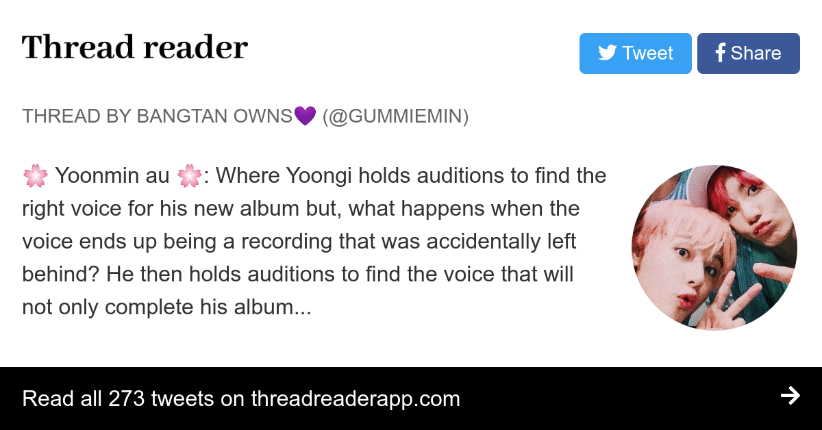 Thread by @Gummiemin: