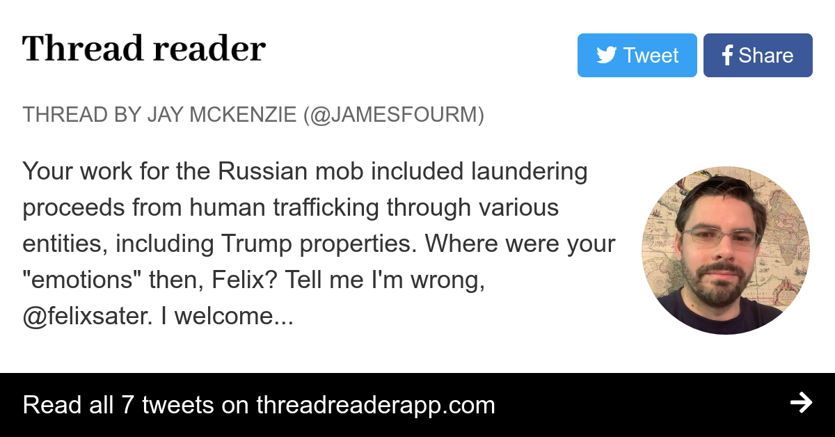 Thread by @JamesFourM: