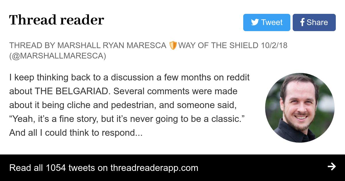 Thread by @marshallmaresca: