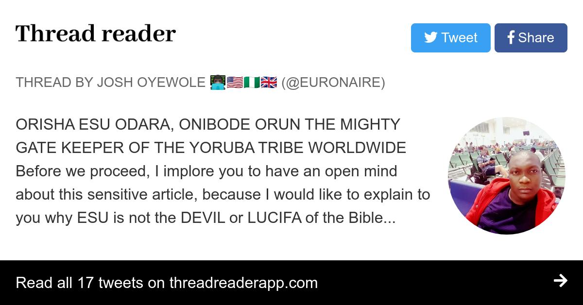 Thread by @Euronaire: