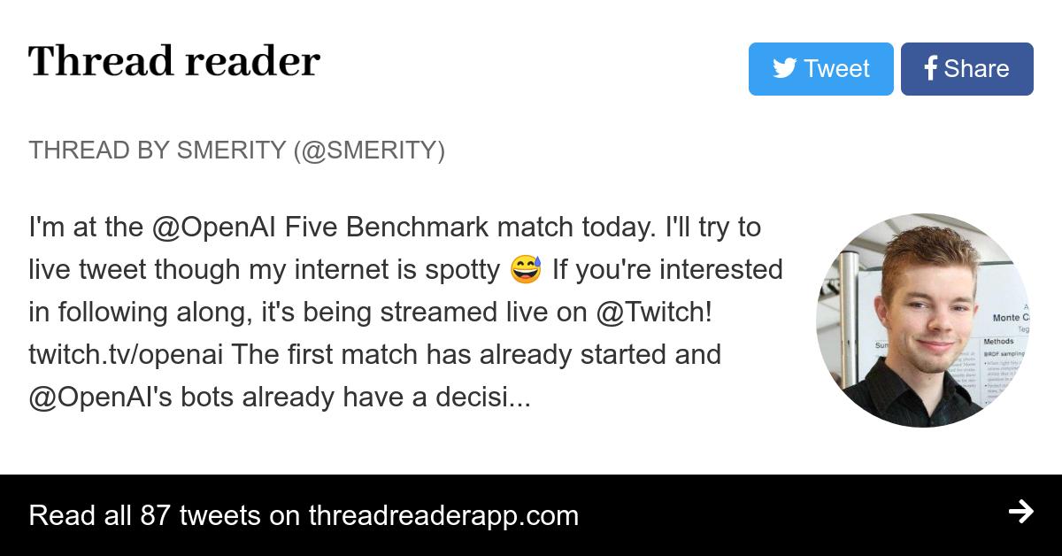 Thread by @Smerity: