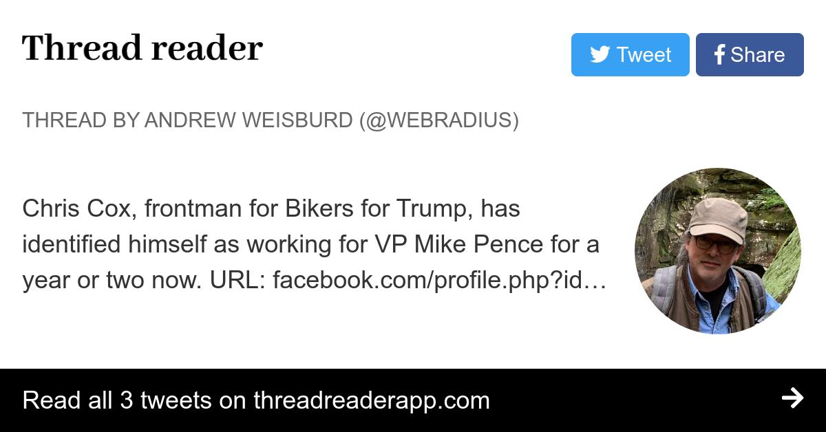 Thread by @webradius: