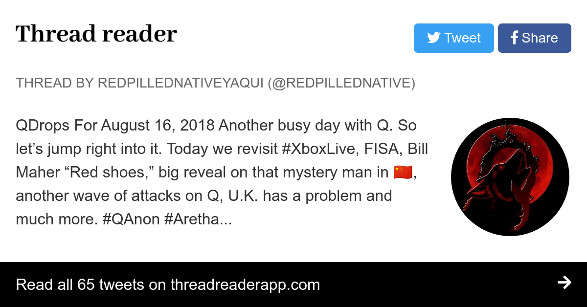 Thread by @RedPilledNative: