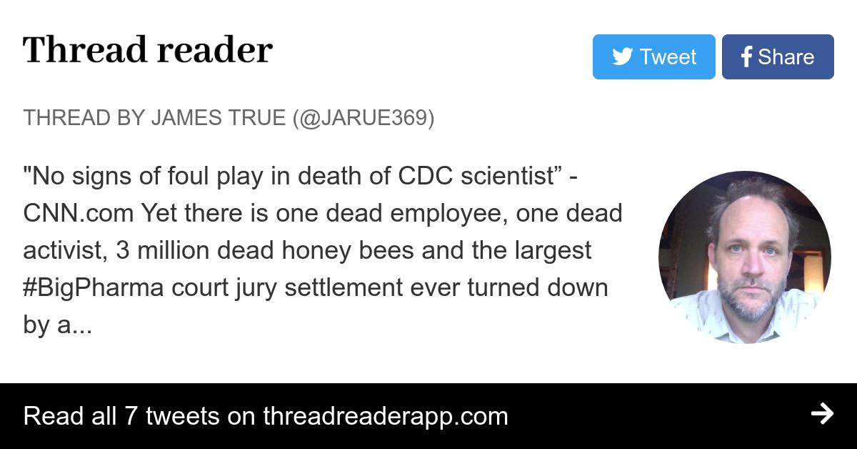 Thread by @jarue369: