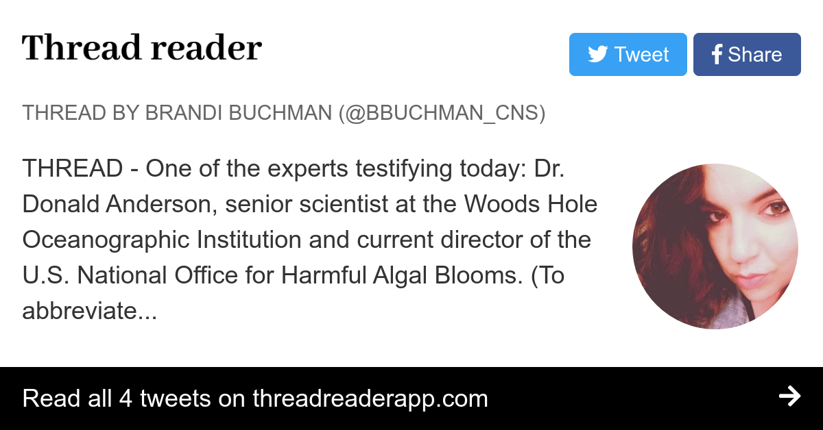Thread By At Bbuchmancns Thread One Of The Experts Testifying