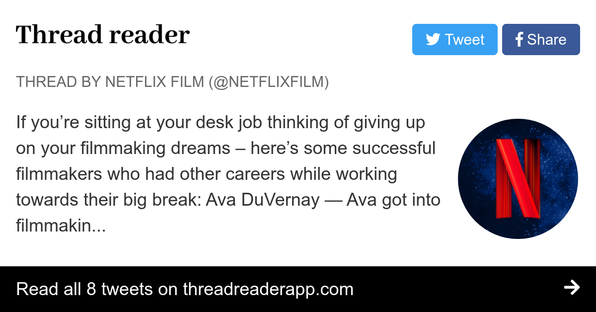 Thread by @NetflixFilm: