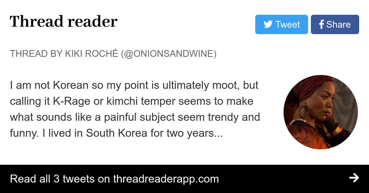 Thread by @OnionsAndWine: