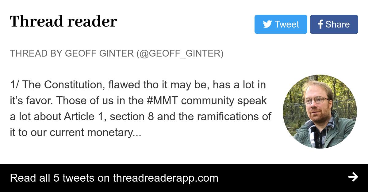 Thread by @geoff_ginter: