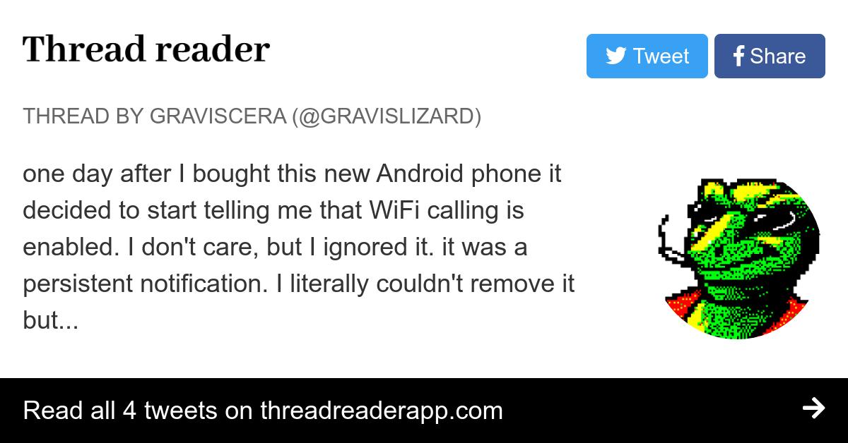 Thread by @gravislizard: