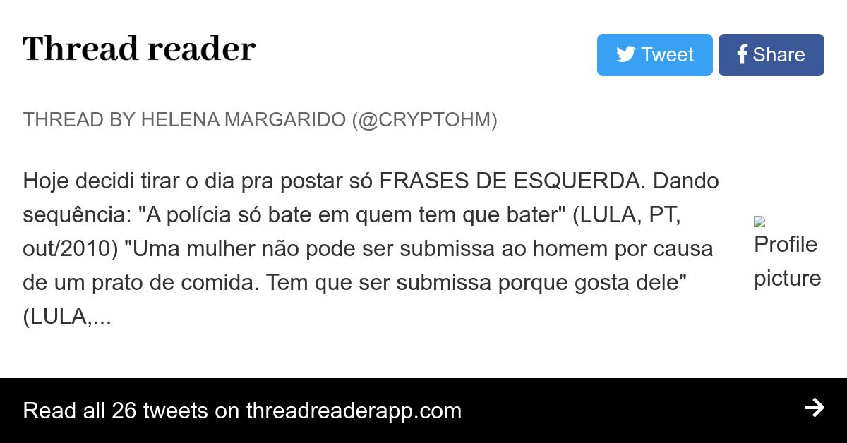 Thread By At Cryptohm Hoje Decidi Tirar O Dia Pra Postar Só