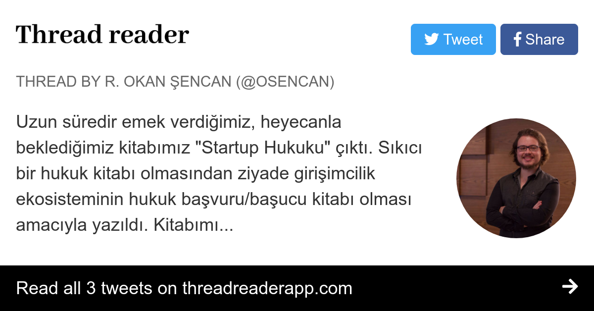 Thread By At Osencan Uzun Süredir Emek Verdiğimiz Heyecanla