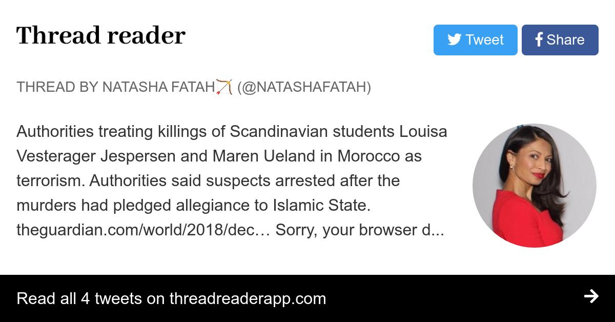 Thread by @NatashaFatah: