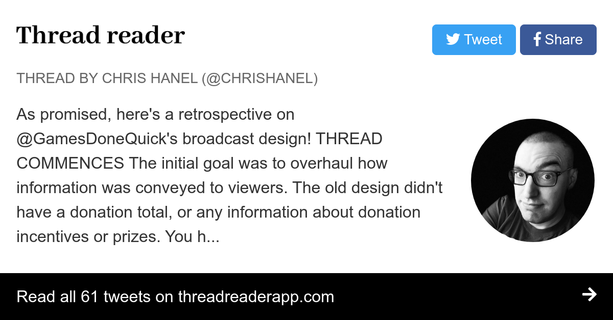 Thread by @ChrisHanel: