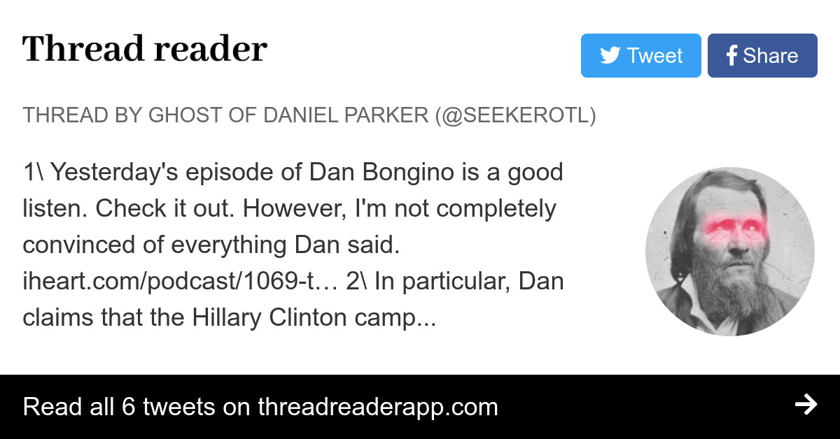 Thread by @SeekerOTL: