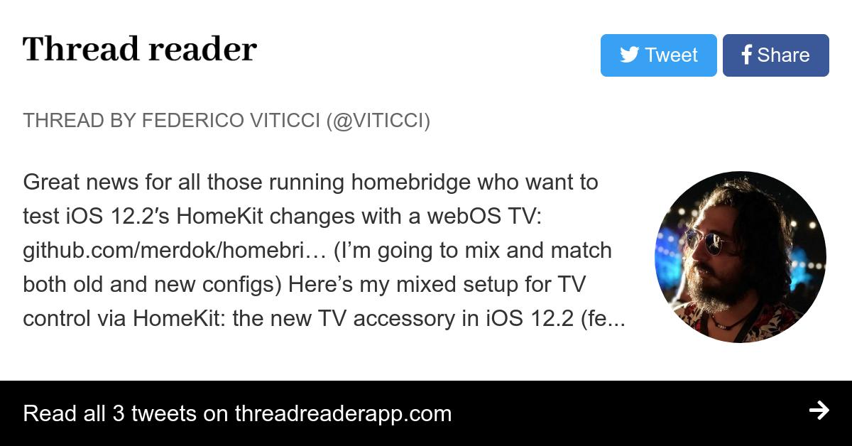 Thread by @viticci:
