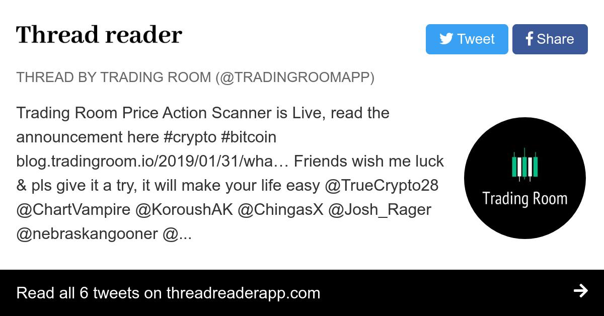 Thread by @tradingroomapp: