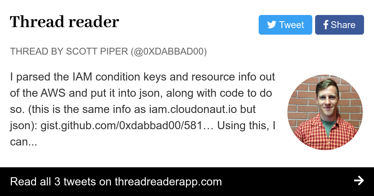 Thread by @0xdabbad00: