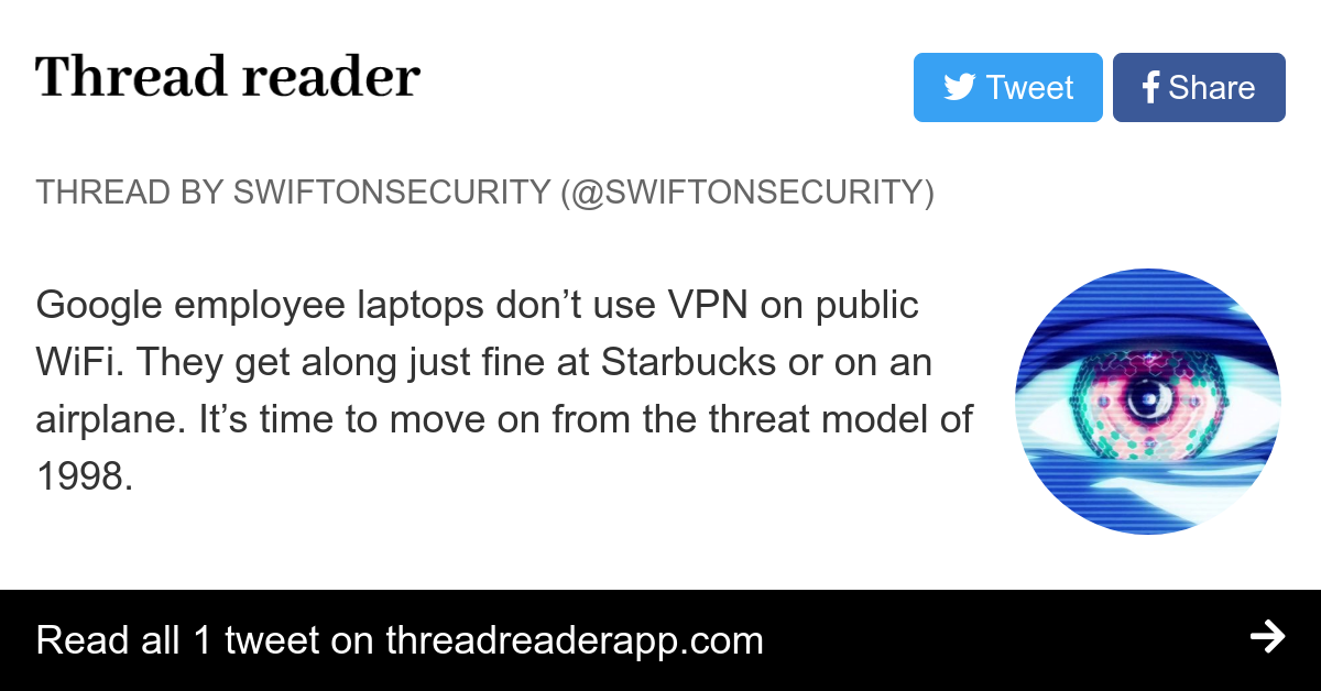 Thread by @SwiftOnSecurity: