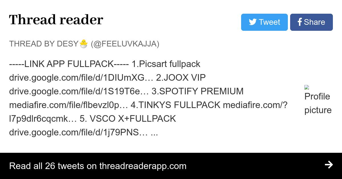 Thread by @feeluvkajja: