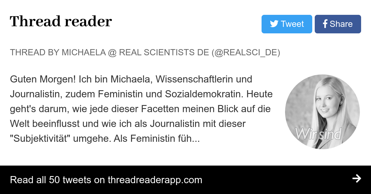 Thread By At Realscide Guten Morgen Ich Bin Michaela