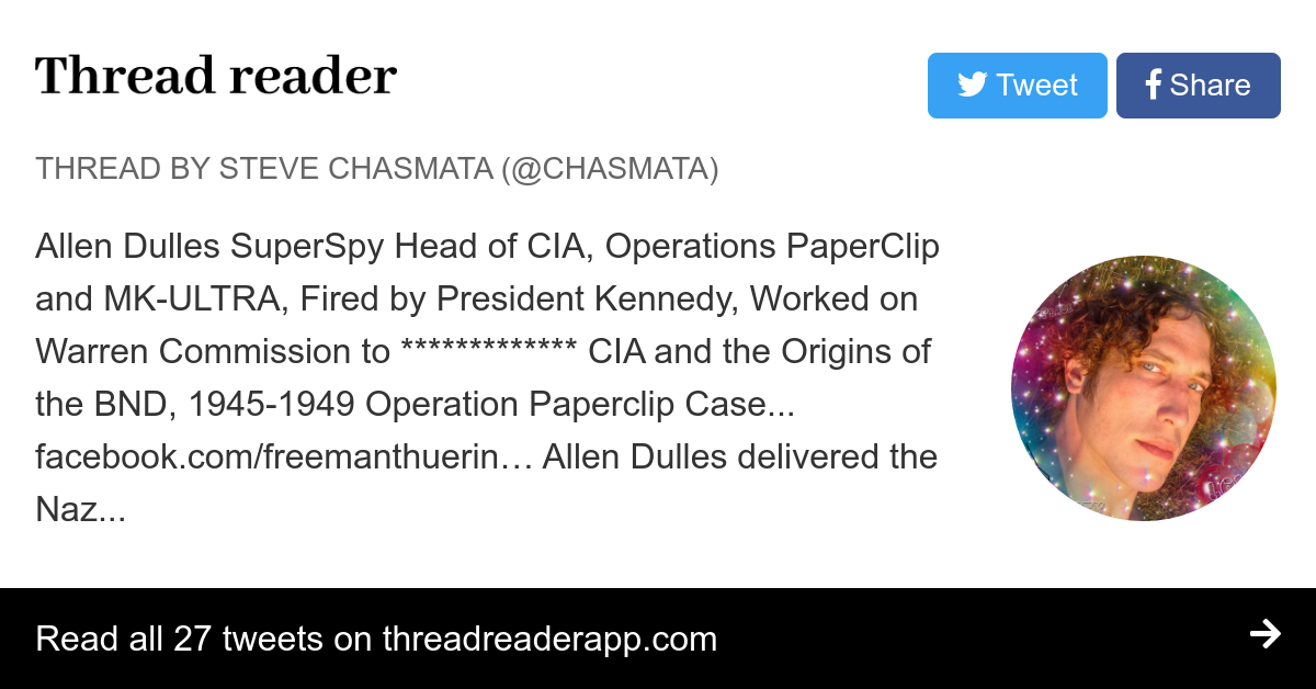 Thread by @chasmata: