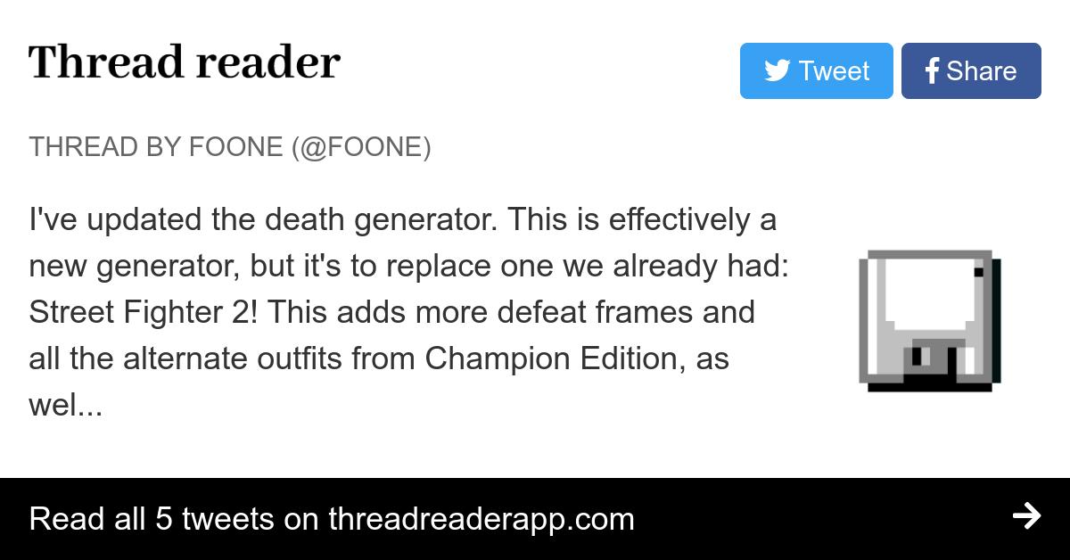 Thread by @Foone: