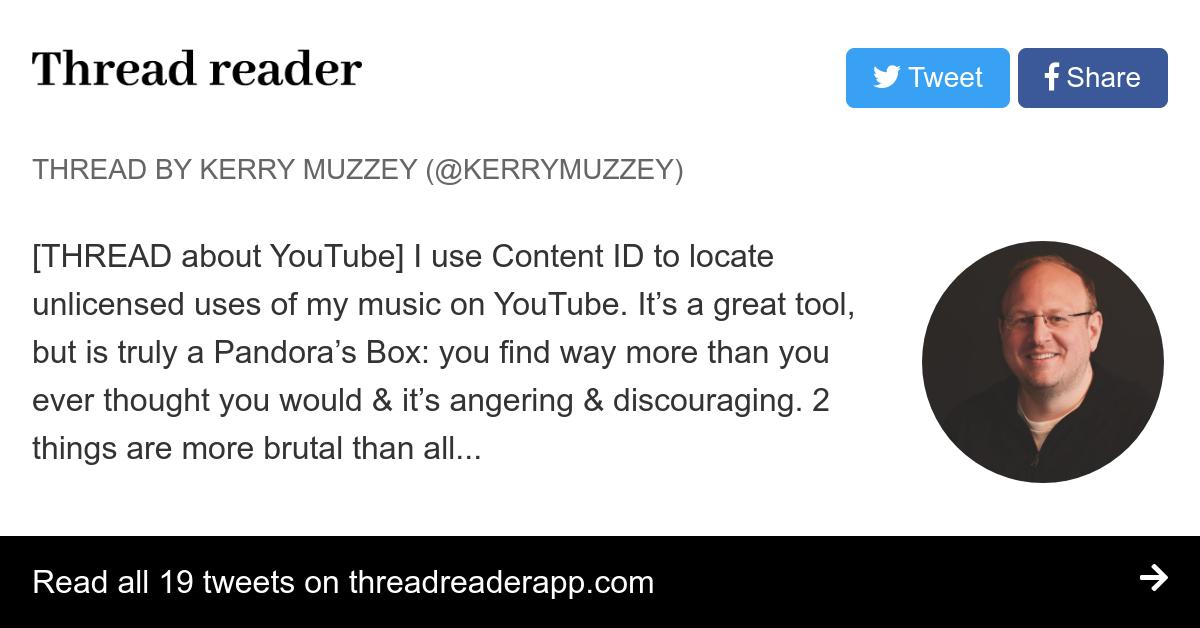 Thread by @kerrymuzzey: