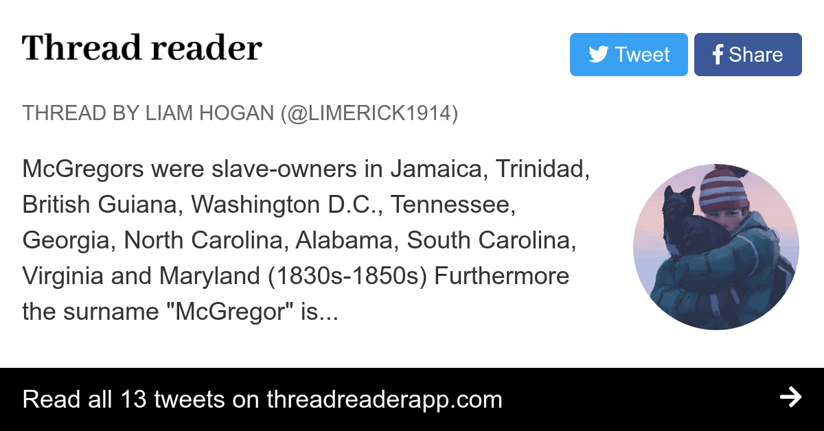 Thread by @Limerick1914: