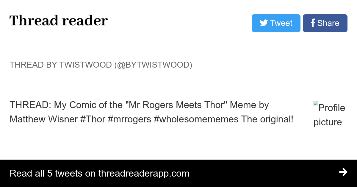 Thread By Bytwistwood On Thread Reader App Thread Reader App