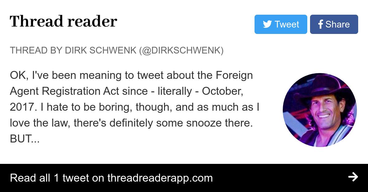 Thread by @DirkSchwenk: