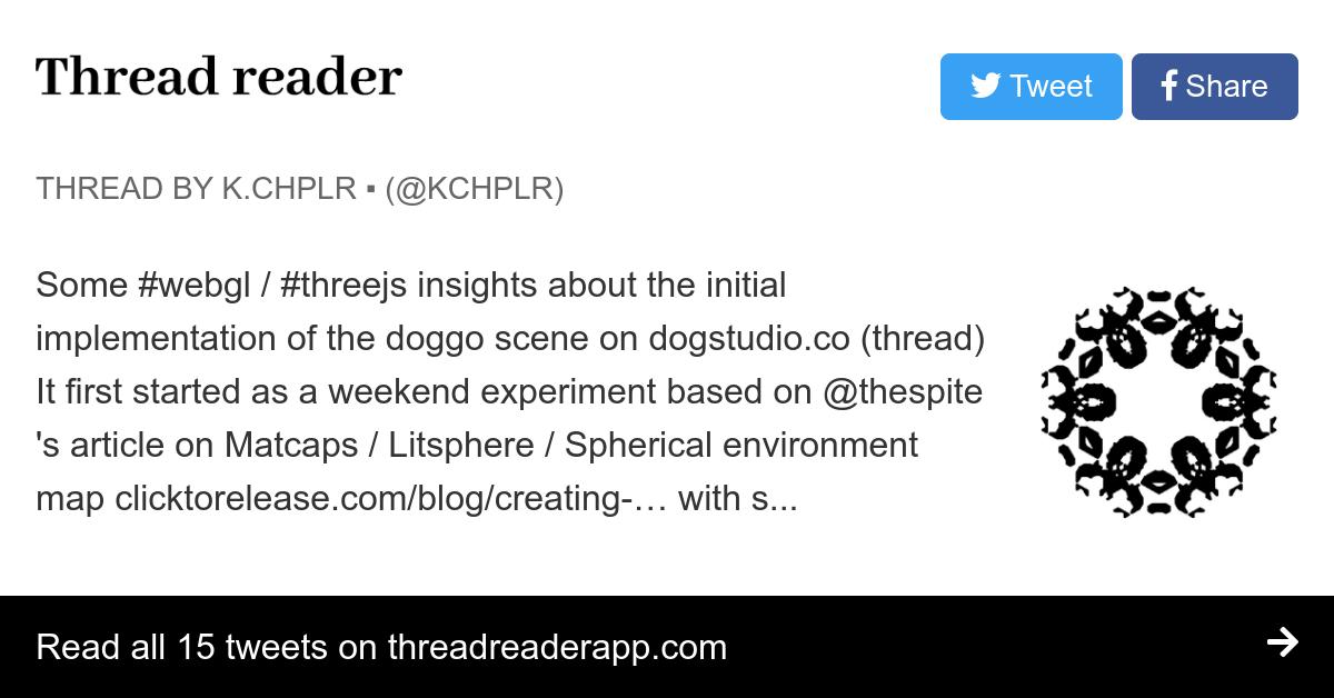 Thread by @kchplr: