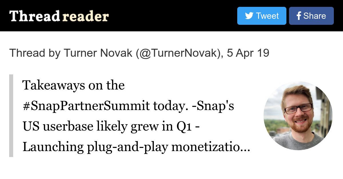 Thread by @TurnerNovak: