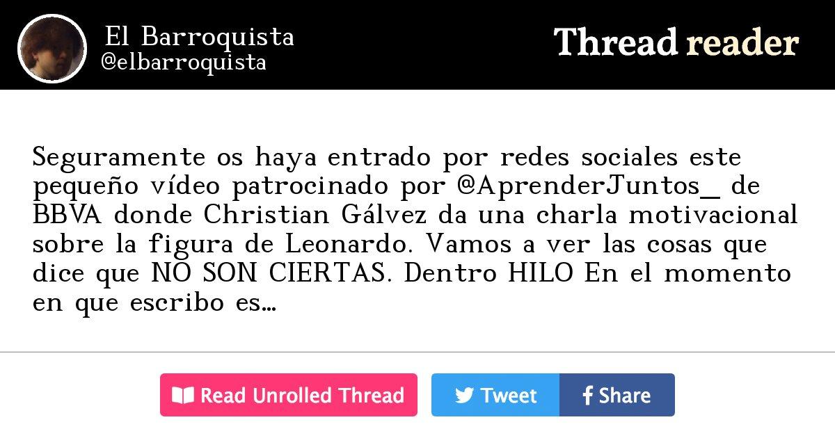 Thread By Elbarroquista Seguramente Os Haya Entrado Por