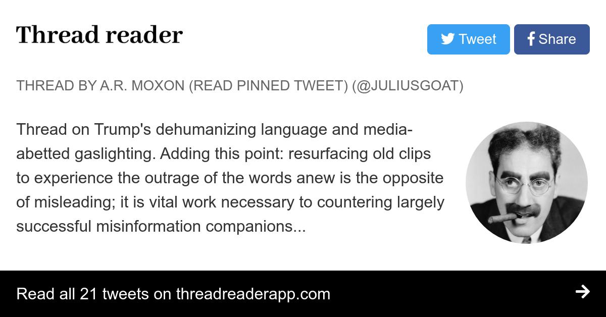 Thread by @JuliusGoat: