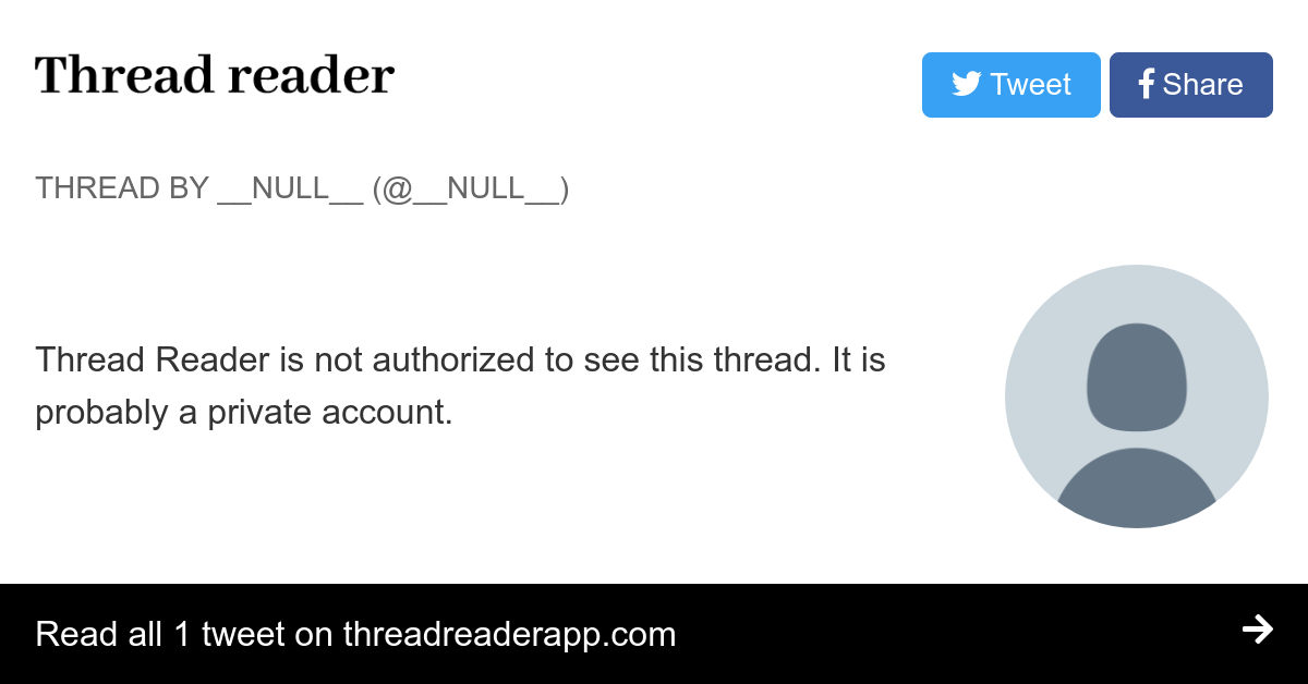 Thread by @WatersNasty: