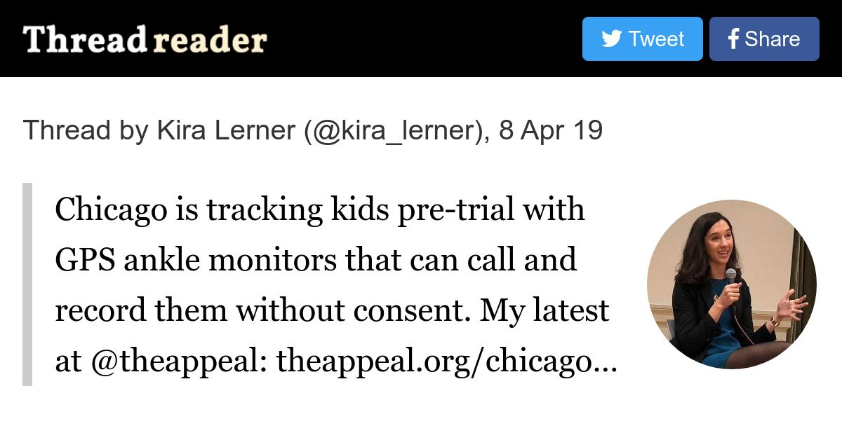 Thread by @kira_lerner: