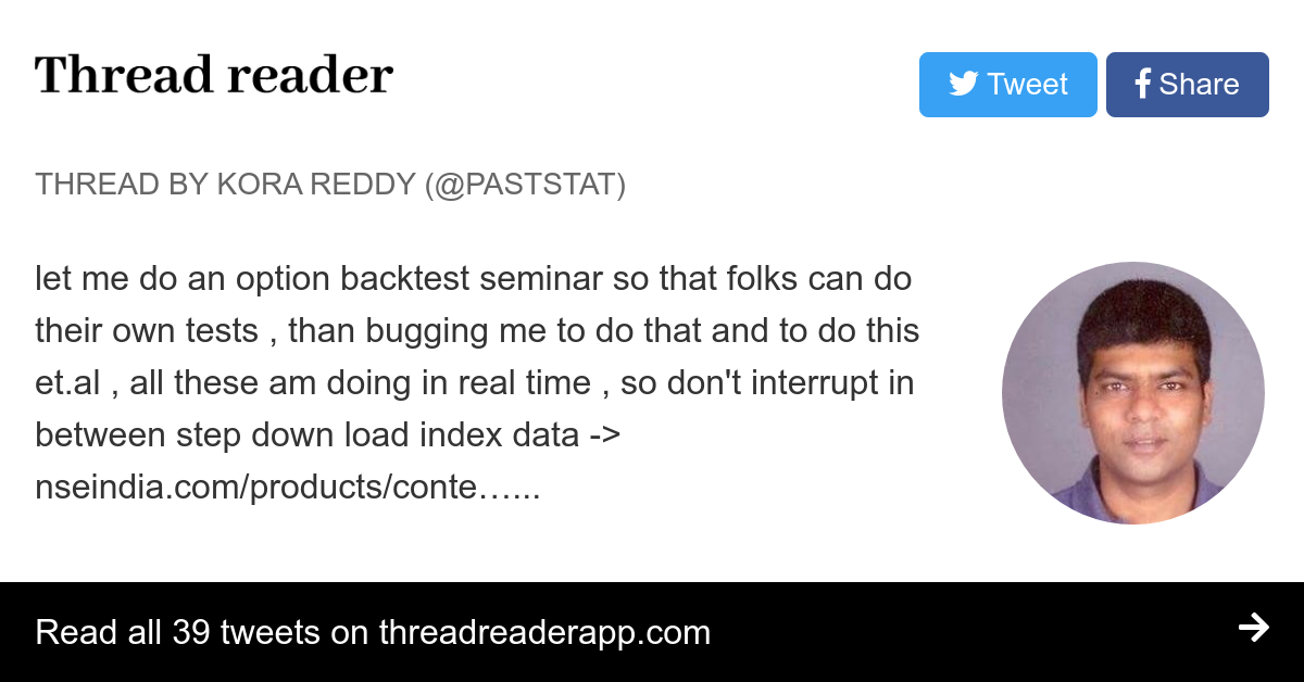 Thread by @paststat: