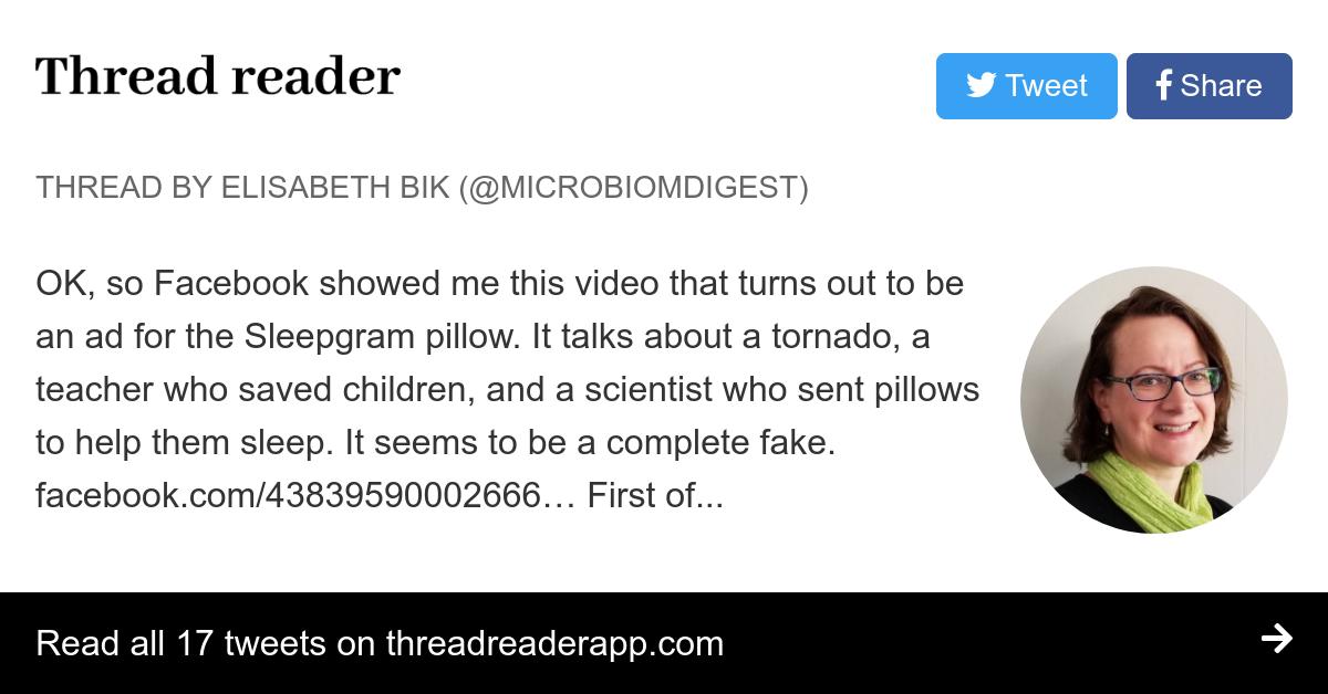 Thread by @MicrobiomDigest: