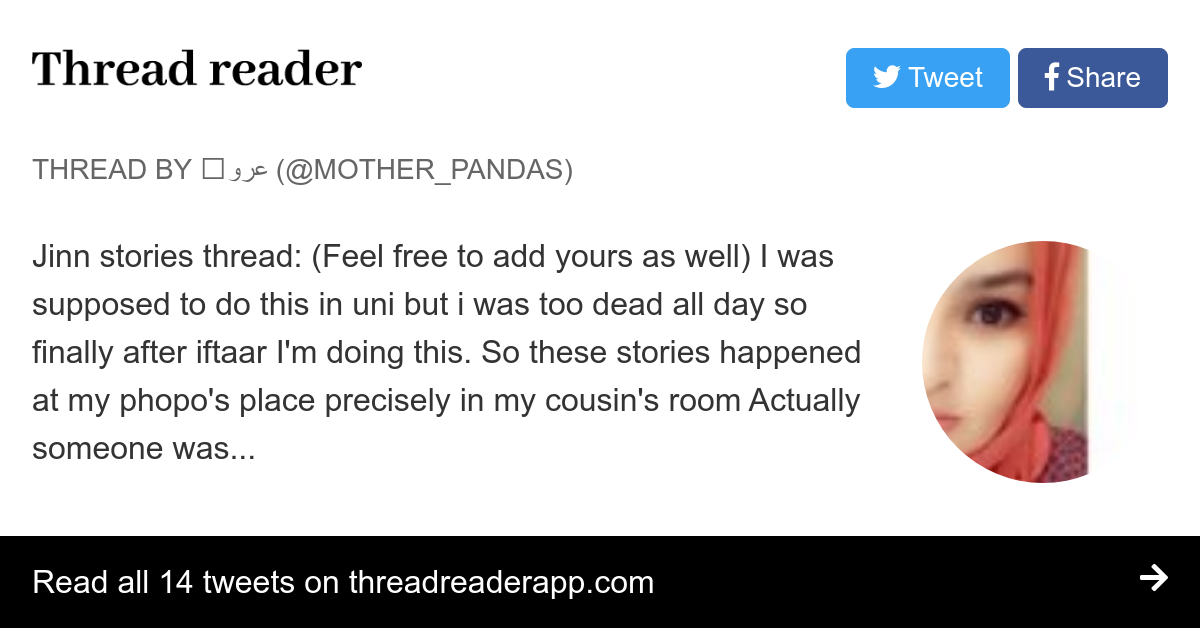 Thread by @mother_pandas: