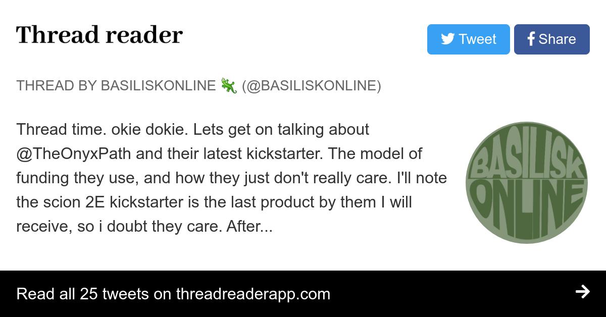 Thread By At Basiliskonline Thread Time Okie Dokie Lets Get On