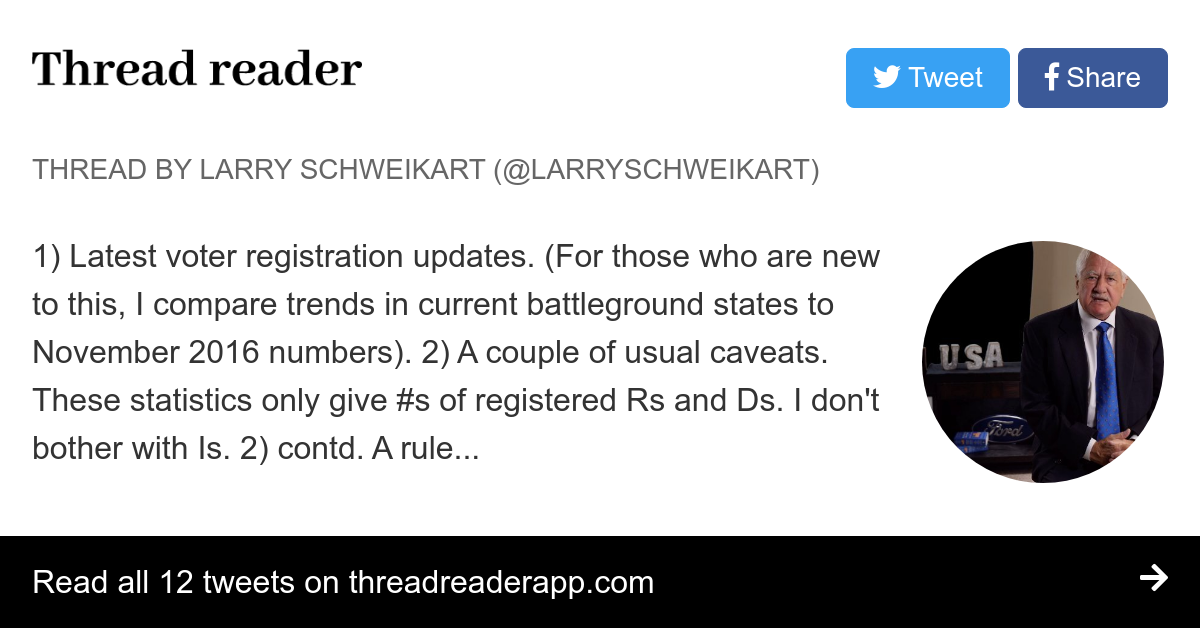 Thread by @LarrySchweikart: