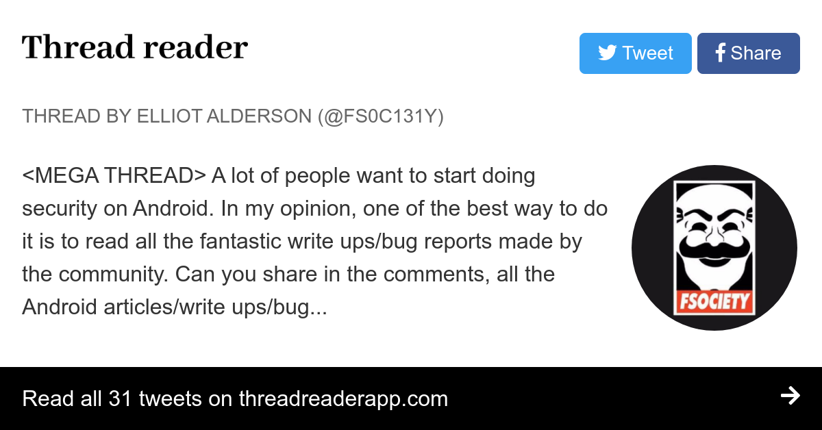 Thread by @fs0c131y: