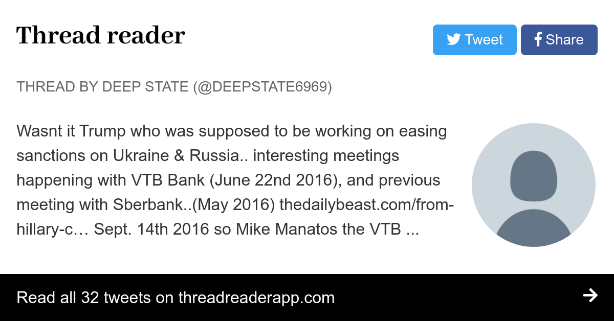 Thread by @Deepstate6969: