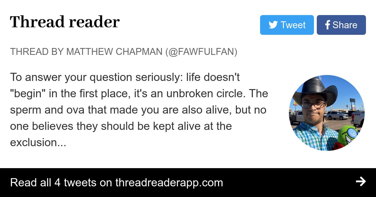 Thread by @fawfulfan: