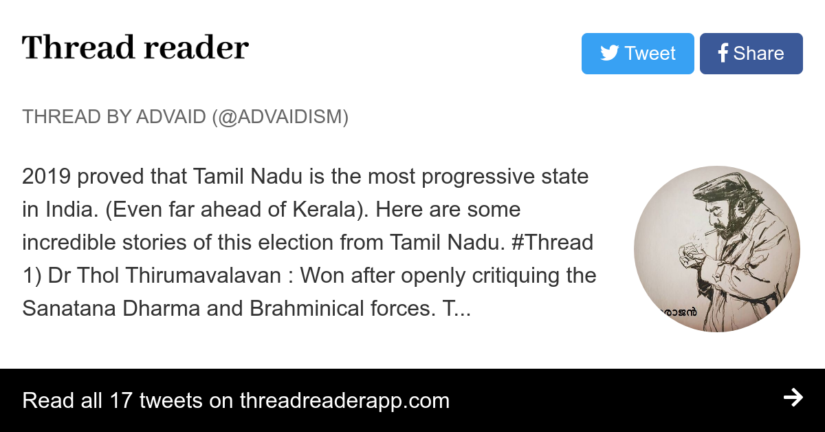 Thread by @Advaidism: