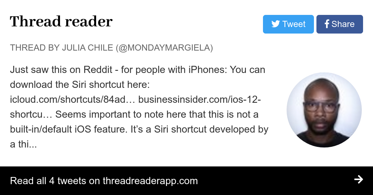 Thread by @mondaymargiela: