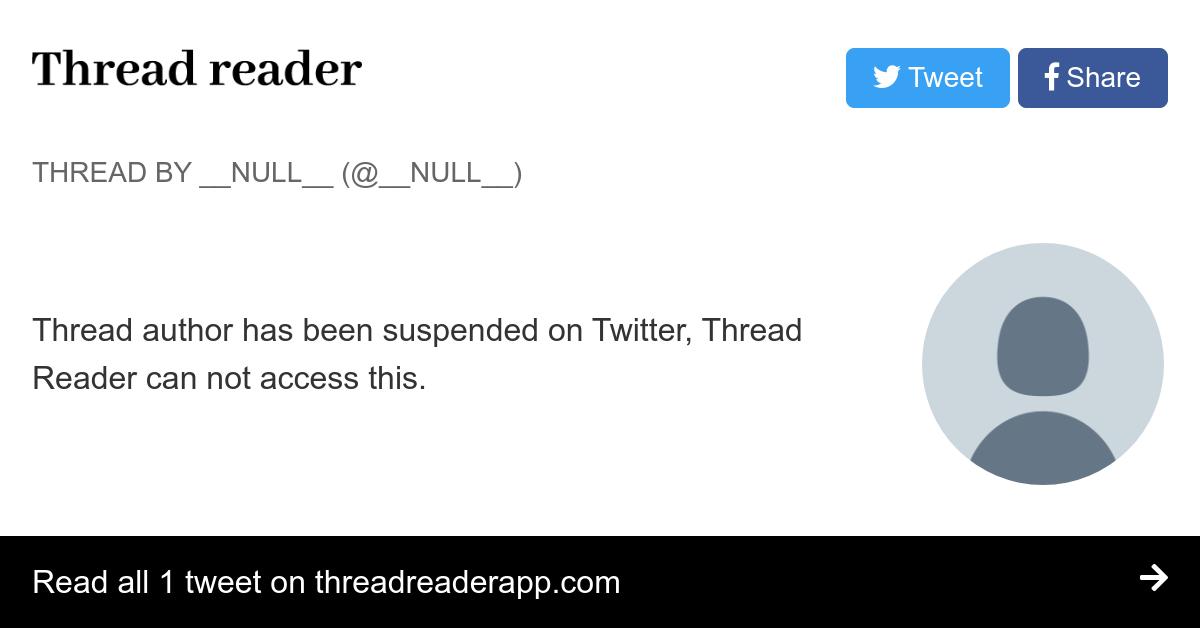 Thread by @GhostOfCoburn: