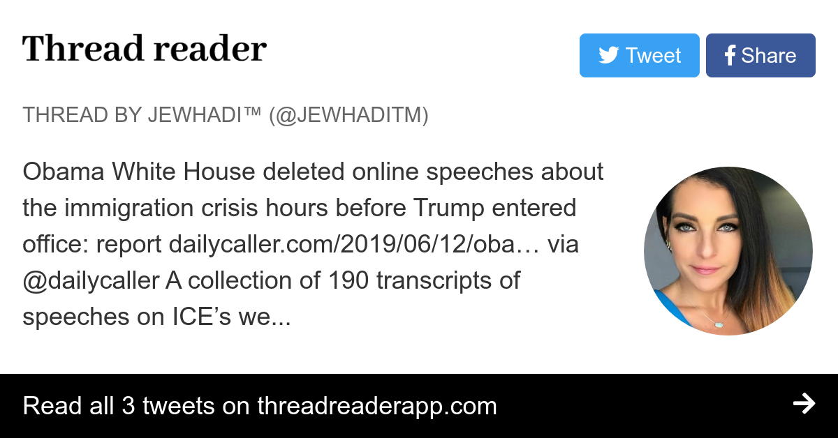 Thread by @JewhadiTM:
