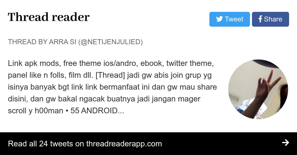 Thread by @netijenjulied: